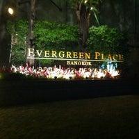 Photo taken at Evergreen Place Bangkok by Chen Sze K. on 11/27/2011