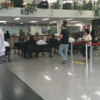 Photo taken at Banco Santander by Paisano M. on 1/5/2012
