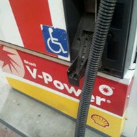 Photo taken at Shell by Antonio B. on 1/10/2012