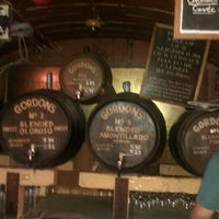 Photo taken at Gordon's Wine Bar by OrganicManDigitalWorld on 9/4/2012