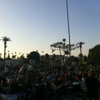 Photo taken at Hollywood Forever Cemetery by Nick G. on 5/28/2012