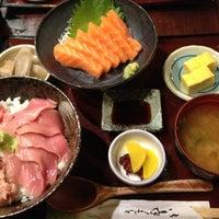 Photo taken at Doraya 定食 by Kaori K. on 6/10/2012