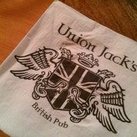 Photo taken at Union Jack's British Pub by Eric W. on 10/15/2011