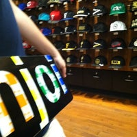 Photo taken at New Era Flagship Store: New York by Bago D. on 9/4/2011