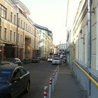 Photo taken at Дмитровский переулок by Sa L. on 8/1/2012