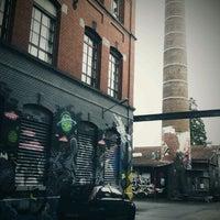 Photo taken at Rote Fabrik by Gunes K. on 1/21/2012