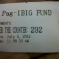Photo taken at Pag Ibig Fund Shaw Blvd by Jeff S. on 7/4/2012