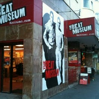Photo taken at The Beat Museum by dave on 1/8/2012
