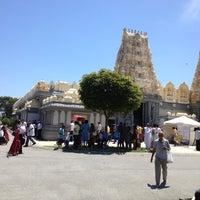 Photo taken at Shri Shiva Vishnu Temple by Sourav S. on 1/1/2012