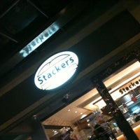Photo taken at Stackers Burger Cafe by Gulaman R. on 1/2/2011