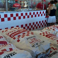 Photo taken at Five Guys by Jen C. on 9/9/2011