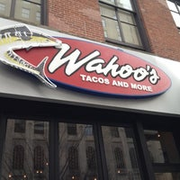 Photo taken at Wahoo's Tacos & More by Candice B. on 3/4/2012