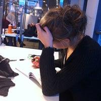 Photo taken at Sellon kirjasto by Tupu on 3/2/2012