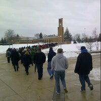 Photo taken at FSU Quad by Nick C. on 1/16/2012
