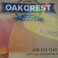 Photo taken at Oakcrest Tavern by Cindy R. on 10/3/2011