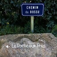 Photo taken at La Roche aux Fras by Vincent B. on 8/19/2011