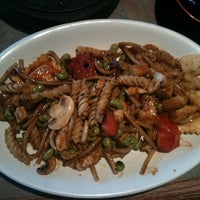 Photo taken at bd's Mongolian Grill by m M. on 4/3/2011