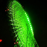 Photo taken at Tempozan Giant Ferris Wheel by Cherry C. on 9/7/2012