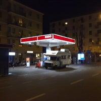 Photo taken at Benzinaio Esso by giulio on 4/3/2011