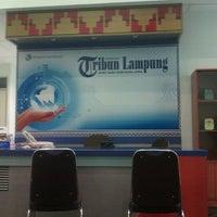 Photo taken at Kantin Tribun Lampung by Ega A. on 10/21/2011