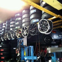 Photo taken at SKM Tyres & Services by song k. on 7/19/2012