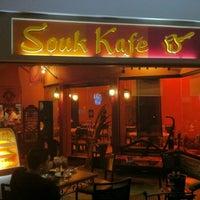 Photo taken at Souk Kafe by Bench B. on 11/6/2011
