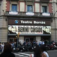 Photo taken at Teatre Borràs by Carlos B. on 6/12/2012