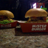 Photo taken at Mister Burger by Armitha H. on 11/9/2011