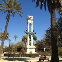 Foto tomada en Jardines de Murillo | Paseo Catalina de Ribera por Antonio Carlos R. el 2/19/2012