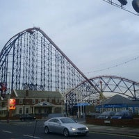 Photo taken at Blackpool Pleasure Beach by Neal C. on 10/23/2011