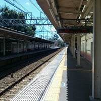 Photo taken at Shibasaki Station (KO15) by Kazunobu on 8/19/2012