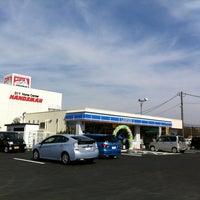 Photo taken at ローソン 熊本菊陽町津久礼店 by Kudoh K. on 2/26/2011