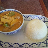 Photo taken at Taste of Thai by Brian B. on 8/19/2011