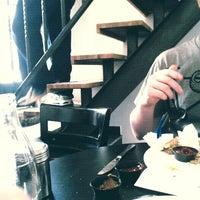 Photo taken at (B) Bar by Jordan F. on 1/9/2012