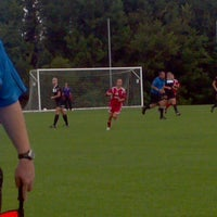 Photo taken at Mike Rose Soccer Complex by waltermu on 8/18/2012