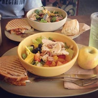 Photo taken at Panera Bread by Stephanie C. on 8/12/2012