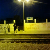 Photo taken at Gare Tahar Sfar by Nabil B. on 6/18/2012