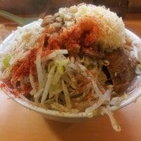 Photo taken at ラーメン荘 地球規模で考えろ by dieen on 1/26/2012
