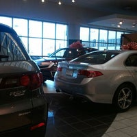 Photo taken at Jay Wolfe Acura by Jim M. on 12/23/2011