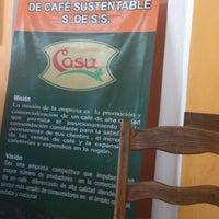 Photo taken at Cafe Sustentable ( CASU) by Salvador M. on 7/22/2012