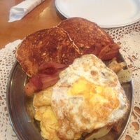 Photo taken at Heritage Farm Pancake House by Sabrina B. on 8/31/2012