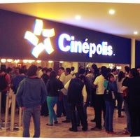 Photo taken at Cinépolis by Daniel V. on 7/27/2012