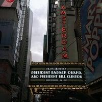 Снимок сделан в New Amsterdam Theater пользователем Katie C. 6/4/2012