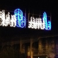 Photo taken at Luna Park Marina Carrara by Lucrezia on 8/15/2012