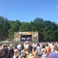 Photo taken at Pollerwiesen by Nika G. on 5/27/2012