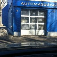 """Photo taken at Automazgātava """"Enri"""" by Marta L. on 3/15/2012"""