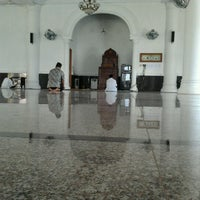 Photo taken at Masjid Ash-Shadaqah by Andrian K. on 8/19/2012