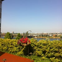 Photo taken at Kimpton RiverPlace Hotel by Megan on 7/11/2012