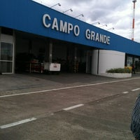 Photo taken at Campo Grande International Airport (CGR) by Rodrigo C. on 5/26/2012