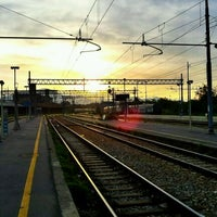 Photo taken at Stazione Bergamo by . on 4/29/2012
